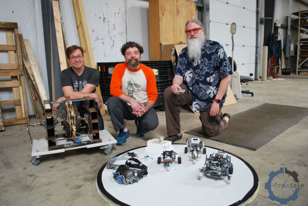 robotics, George Albercook, Francis Esmonde-White, Paul Haas, Rocks and Robots, GoTech, Maker Works, Ann Arbor makers