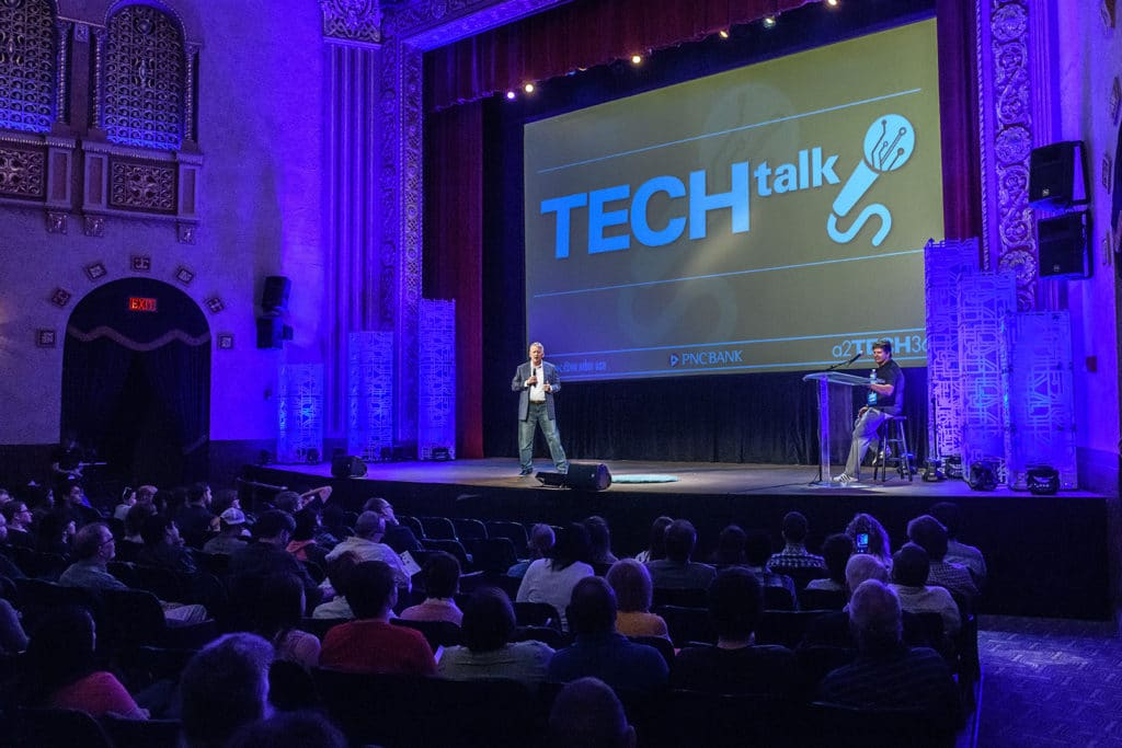 Tech Talk 2019, Ann Arbor tech conferences, Michigan Theater, a2tech360