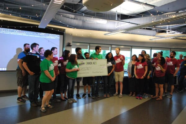 Hack:A2 Hackathon Winners Build a Better City of Ann Arbor