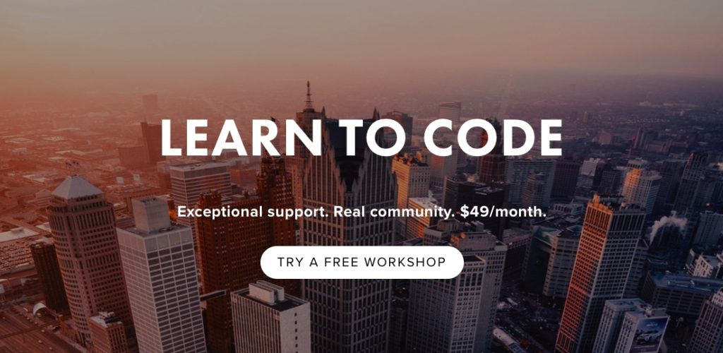 ShiftUp, Ray Batra, Detroit startups, Detroit coding classes, learn to code Detroit, third space community