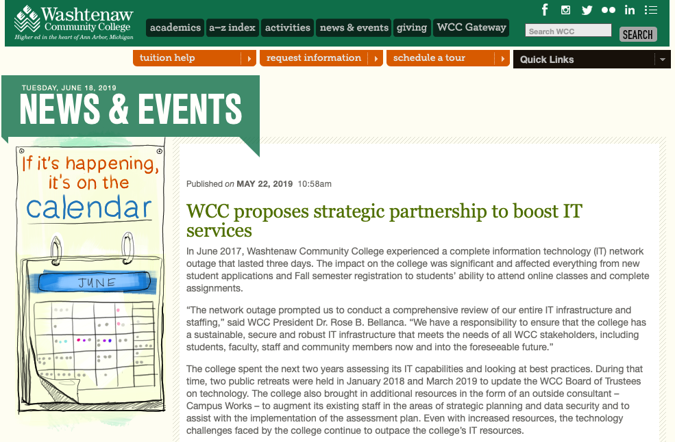 WCC IT Outsourcing Scandal & How You Can Get Involved