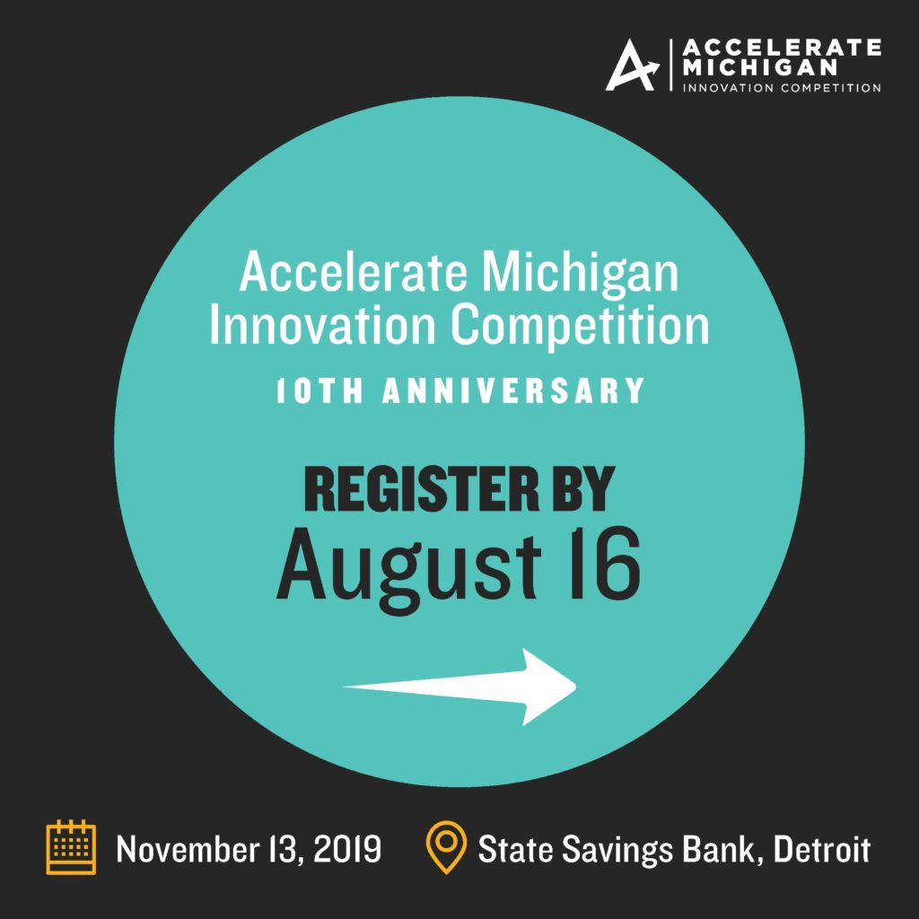 Invest Detroit, Accelerate Michigan Innovation Competition, pitch competition, Detroit tech, Ann Arbor tech, VC funding, angel investing