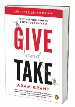 Give and Take, Givitas, Larry Freed, Ann Arbor SPARK, Adam Grant, Ann Arbor tech