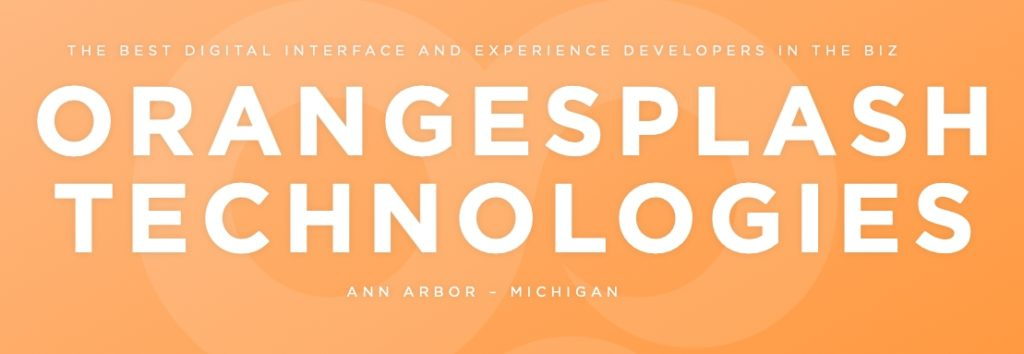Orangesplash Technologies, Ann Arbor tech, machine learning, augmented reality, interactive museum app, education tech, Ann Arbor business news