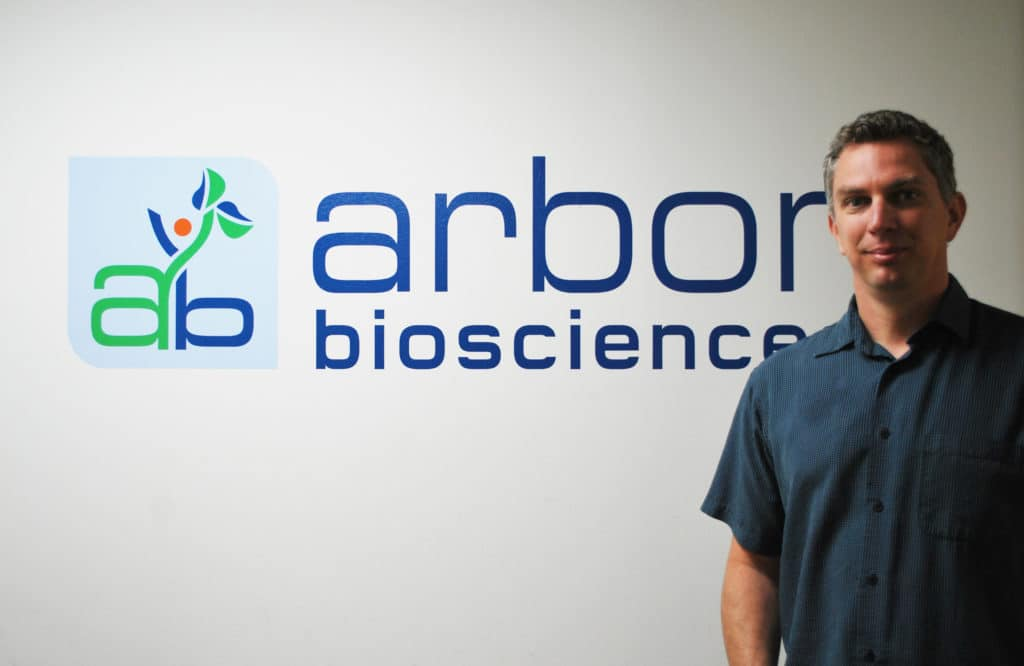 Arbor Biosciences, Matthew Hymes, genomic sequencing, Ann Arbor tech, life science companies, Ann Arbor tech news