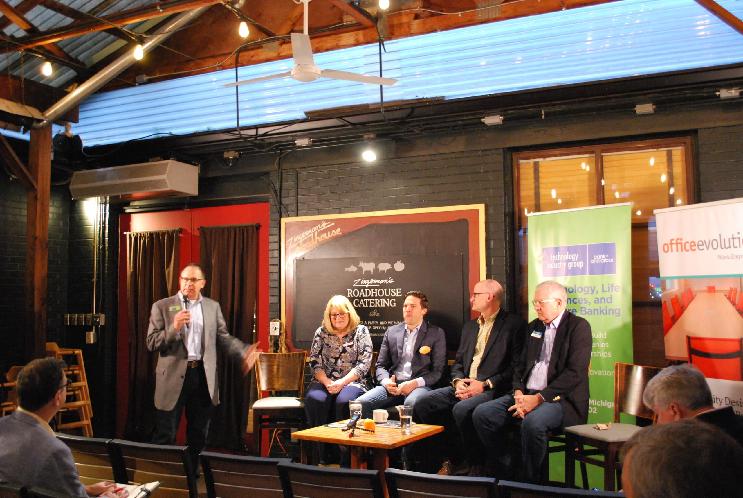Leaders Connect, tech company financing, Midwest tech, startup financing, Michael Cole, Bank of Ann Arbor, Kris Bergman, Evan Ufer, Plymouth Growth Partners, Mike Klein, Genomenon, Skip Simms, Ann Arbor SPARK, Michigan Angel Fund