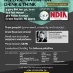 Defense (Tech) Innovation Drink & Think In Grand Rapids Jan 30