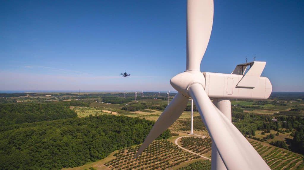 SkySpecs, drone tech, windmill inspection, wind industry, Danny Ellis, sustainable energy news, midwest tech news