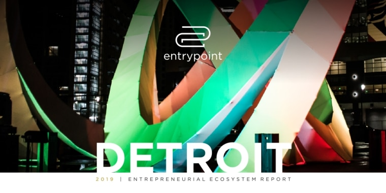 EntryPoint Michigan, entrepreneurial ecosystem Michigan, Midwest tech company stats, Detroit entrepreneurial research report, Detroit startup culture, Washtenaw County capital report, Midwest tech news, Emily Heintz