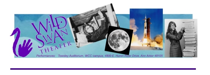 Wild Swan Theater, Coding To The Moon, Ann Arbor family events, Ann Arbor tech events, Ann Arbor theater, Margaret Hamilton