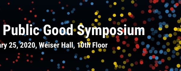 Attend The University of Michigan Data for Public Good Symposium Feb 25th