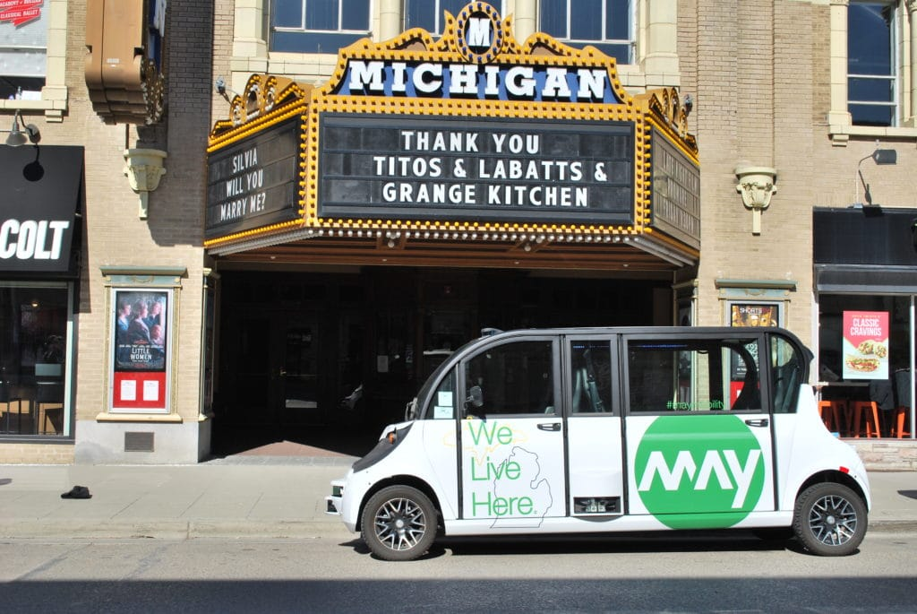 may mobility, mobility tech startups, startups Michigan