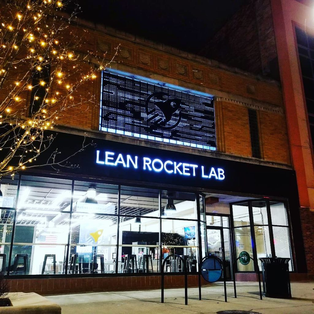 Lean Rocket Lab, Jackson Michigan business news, Midwest manufacturing news, manufacturing tech, manufacturing company incubator