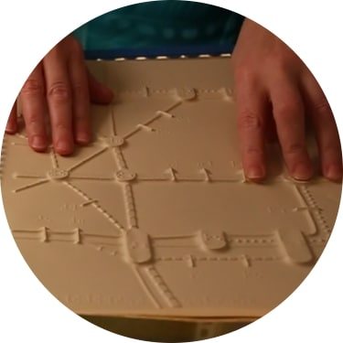 NewHaptics, braille graphics tablet, better braille tablet, Alex Russomanno, University of Michigan startups, Ann Arbor startups, Midwest tech news
