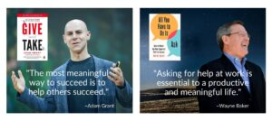 Givitas, Give and Take, Adam Grant, Larry Freed