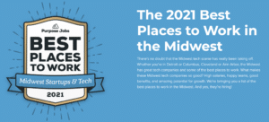 Purpose Jobs, Best Places to Work in the Midwest