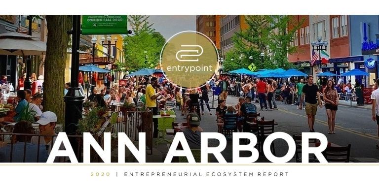 2021 Ann Arbor Entrepreneurial Ecosystem: +64% High-Growth VC-Backed Startups in 7 Years