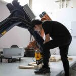 Robots Fabricate a Pavilion To Prove Broader Use Case for Automated Construction